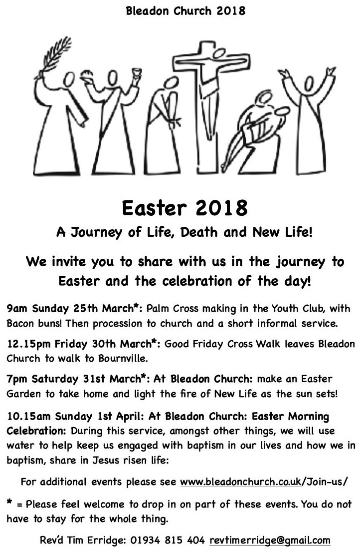 Easter at Bleadon Church 2018