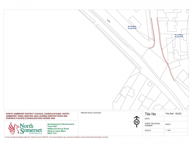 Proposed Parking Restrictions