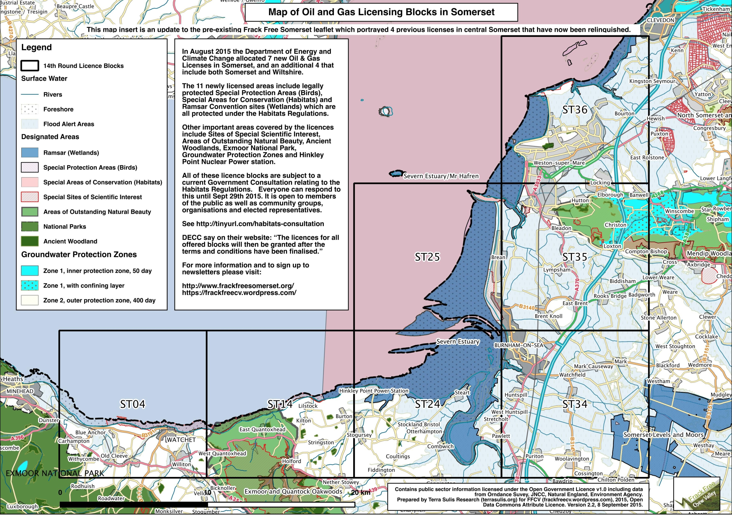 Link to Petroleum Exploration Development Licence map