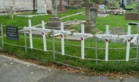 The Bleadon Fallen Memorial Cross Displays