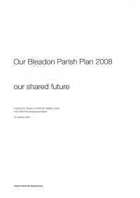 Draft Parish Plan 2008
