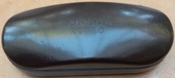 Found London Retro Case with Prescription Sun glasses