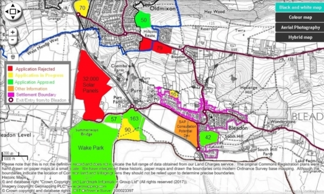 Major Developments in and around Bleadon Image