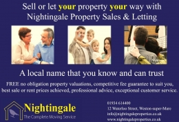 Contact Nightingale Property Sales and Letting