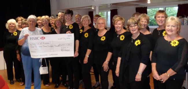 Bleadon Belles Sing and Bake to Raise Funds for the Diamond Jubilee Scanner Appeal