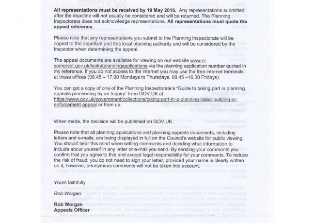 Bleadon Hill Housing Appeal pg2