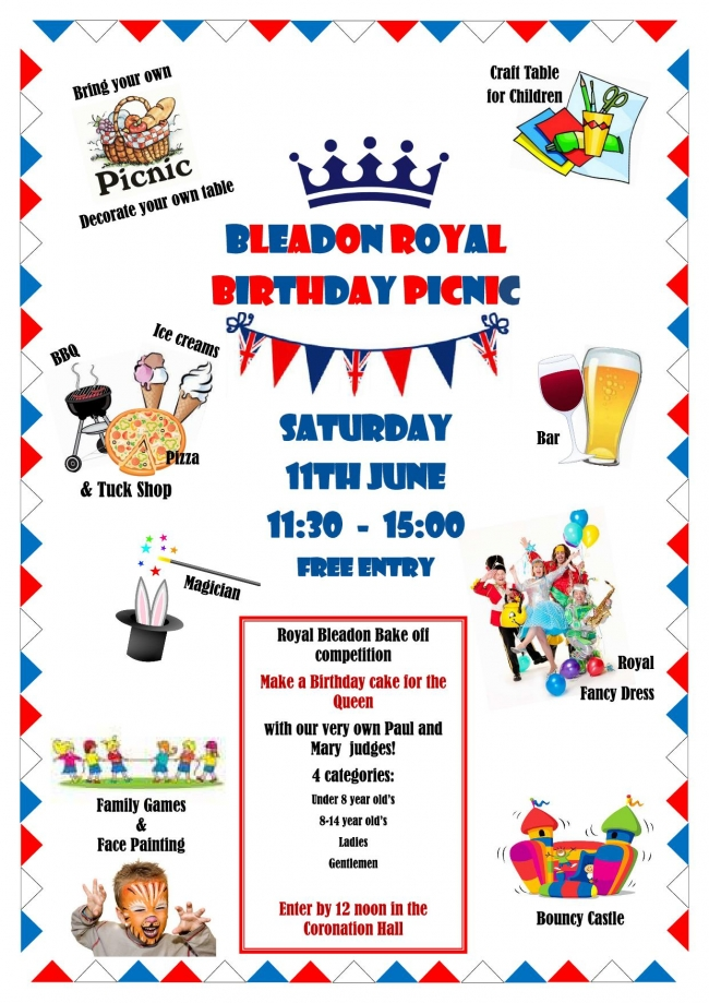Royal Birthday Picnic Party