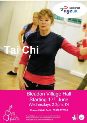 Tai Chi Classes at Bleadon