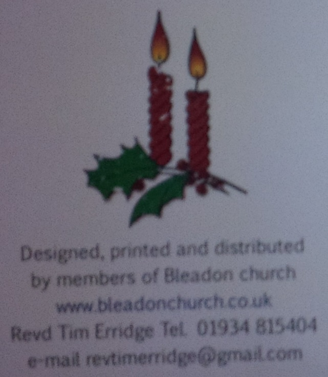 Christmas 2015 at Bleadon Church