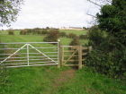 Gate/stile at other end of path from Catherines inn gate