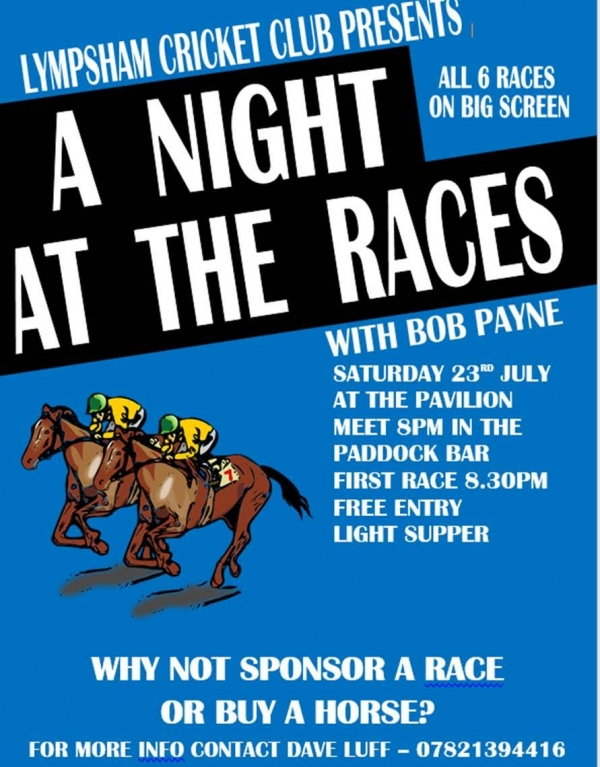 Lympsham Cricket Club - Race Night